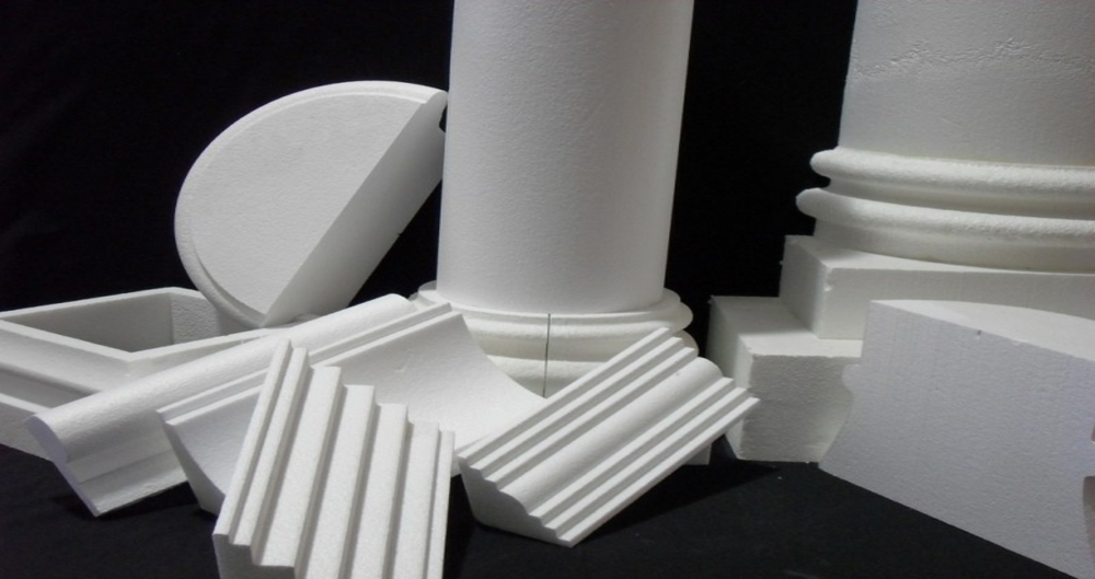 Hot wire CNC foam cutters - Foam cutting example - Architectural Elements